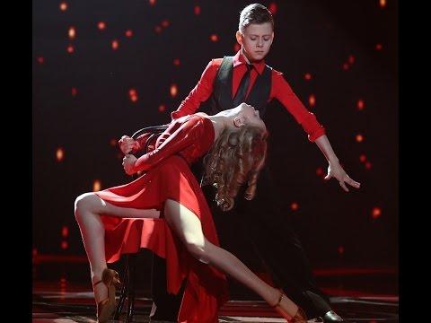 Piękny taniec w finale finałów programu