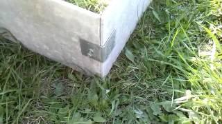 Как сделать грядки из шифера(Делаем на своем садовом участке ,вечные грядки из плоского шифера., 2015-05-17T11:59:06.000Z)