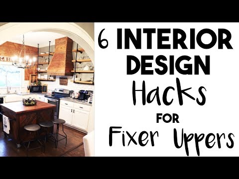 5 Huge INTERIOR DESIGN HACKS I learned in a FIXER UPPER!