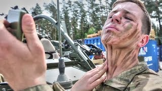 NATO Allies Stand Ready In Europe: British & US Soldiers Train Together In Poland