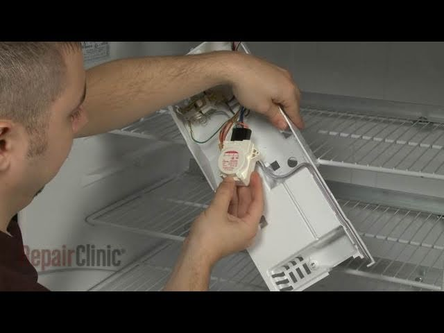 GE Refrigerator Not Defrosting? Defrost Timer Replacement #WR9X489 - YouTube | Ge Refrigerator Wiring Diagram Defrost Heater |  | YouTube