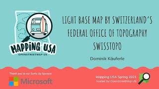 Light base map by Switzerland's federal office of topography SwissTopo screenshot 1