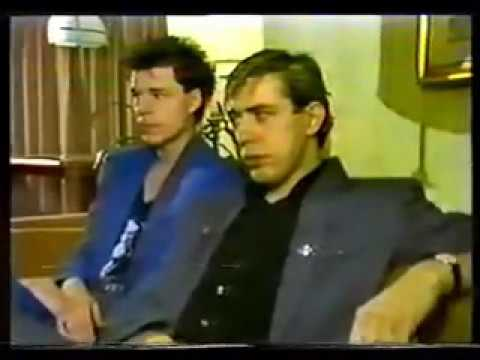 BIG COUNTRY - Rare Australian Tour interview and TV ad for the 'Australian Crossing', 1984
