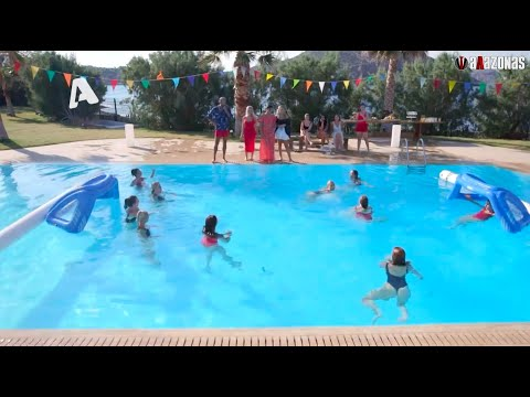 The Bachelor: Όλα τα HIGHLIGHTS από τον αγώνα WATER POLO μεταξύ των κοριτσιών   ΑΛΑΖΟΝΑS