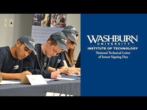 Washburn Tech Technical Letter of Intent Signing Day 2018