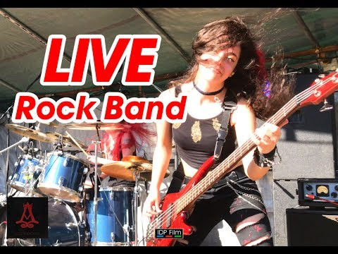 Aramantus LIVE DIGITALLY REMASTERED 4K HD Music / GLASTONBURY / BASS ACE Cici Powell