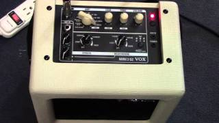 Vox Mini3 G2 Battery Powered Amp Demo