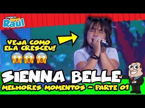 SIENNA BELLE  - Melhores Momentos  01  A TURMA DO VOVÔ RAUL GIL
