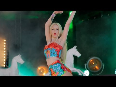Iggy Azalea Chats To Kiss FM (UK) At Yahoo! Wireless Festival