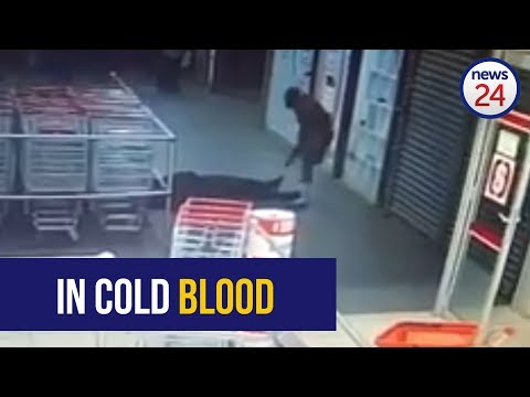 WATCH: Shoprite security guard shot point-blank during store robbery