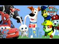 Paw Patrol and the secret life of pets Paw Patrol saves the pets Peppa Pig Cars Mcqueen Spiderman 4K
