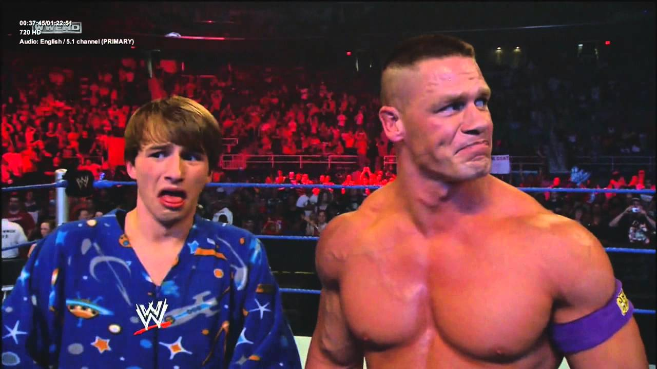 wwe fred and john cena vs mr devlin and kevin  hd