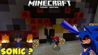 Sonic Exe di MCPE? | Minecraft PE [Minegames]