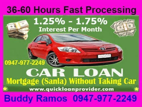 Car Loan Mortgage Without Taking Car - Fast 36-48 Hours Process. Loan is Released Within 2 Days.