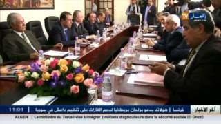 الأمين العام للأفلان عمار سعيداني يدشن مقر الأمانة التقنية للمبادرة