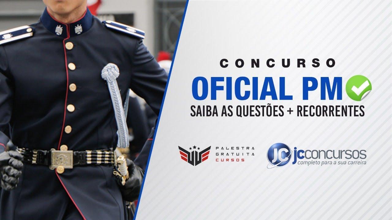 CONCURSO OFICIAL PM | SAIBA AS QUESTÔES + RECORRENTES