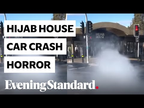 Sydney Hijab House Car Crash: Footage Shows Car Smashing Into Greenacre Store Injuring At Least 12
