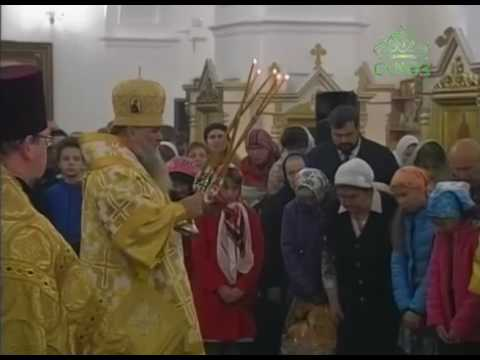 Трансляция Божественной литургии из петербургского храма Святой Троицы в Красном Селе