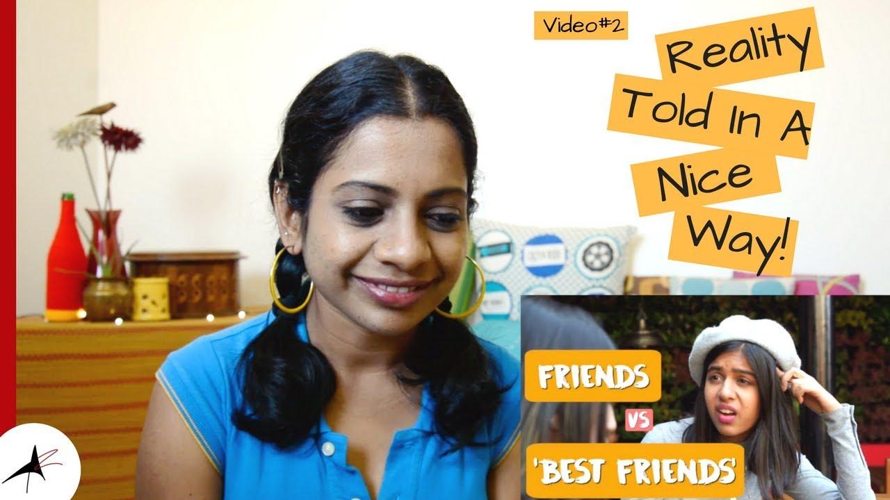 Sejal Kumar Friends vs Best Friends Reaction Video#2 | Arpitharai
