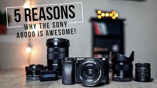 Top 5 Reasons Why The Sony a6000 is Awesome! (2018)