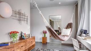 SomaliBeautifulHome Hammock in the interior we create a relaxation area