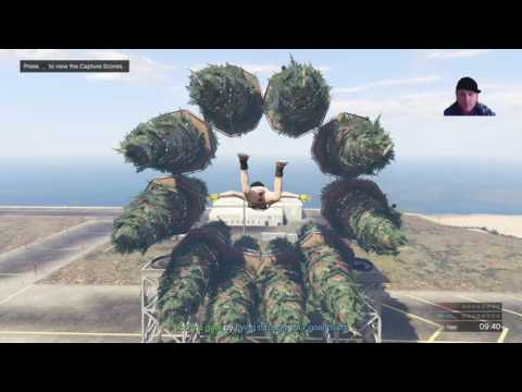 GTA V online MOTHER SHIP w HA--HA_