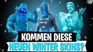 WINTER FROST SKINS? Rote Ritterin & mehr Leaks | Mythbusters | Fortnite Battle Royale