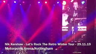 Nik Kershaw - Let's Rock The Retro Winter Tour - Motorpoint Arena Nottingham - 29.11.19