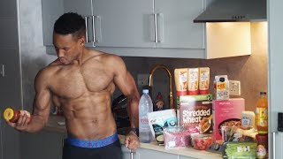 How To REALLY GET 6 PACK ABS | Full Day OF Eating in DUBAI