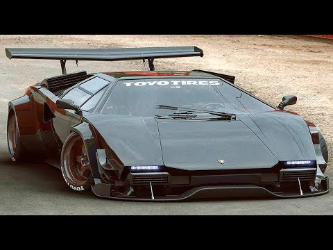 Lamborghini Countach The Ultimate Sound Compilation Youtube