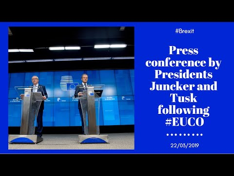Press conference by President Juncker & Tusk following #EUCO