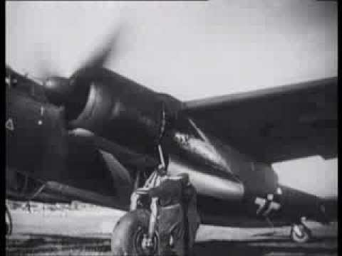 Dornier Do17 German archive footage