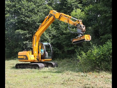 Excavator Mounted Flail Mower GHL Rolmex JCB