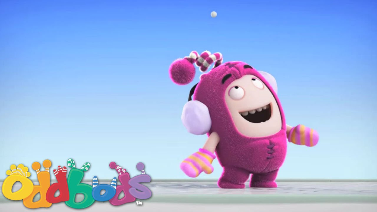 Oddbods | Newt and the Snowflake