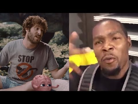 Kevin Durant SHUTS UP Rapper Lil Dicky Over Trading LeBron James