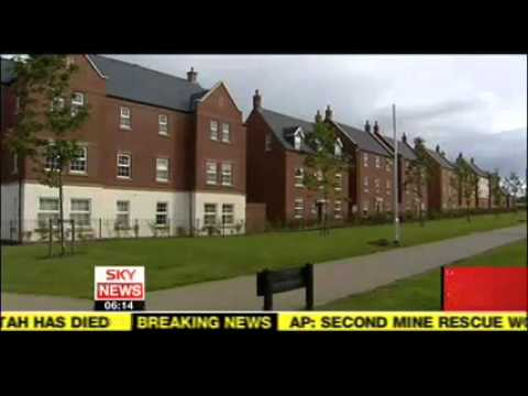 Sky News on English housing, 16 August 2007