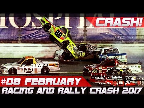 Racing and Rally Crash Compilation Week 8 February 2017