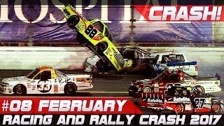 Racing and Rally Crash Compilation Week 8 February 2017