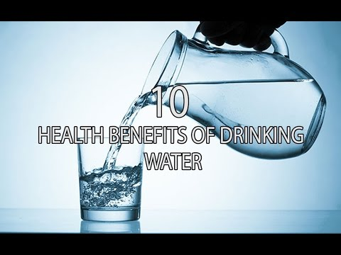 10 HEALTH BENEFITS OF DRINKING WATER