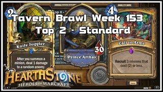 Hearthstone: Tavern Brawl - Top 2 - Standard - Week 153