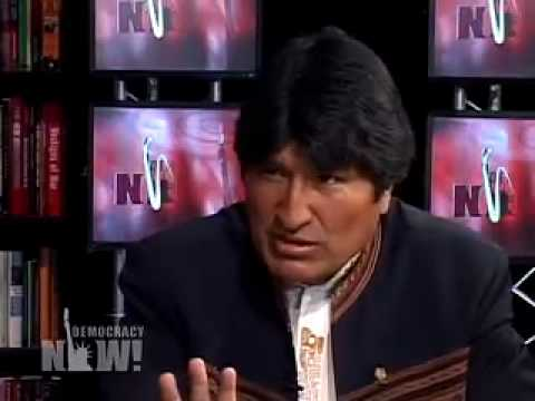 """Bolivian President Morales """"no to Neoliberalism""""- 2/5"""