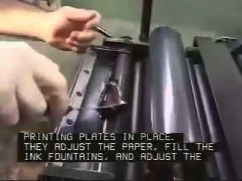 Printing Press Machine Operators and Tenders