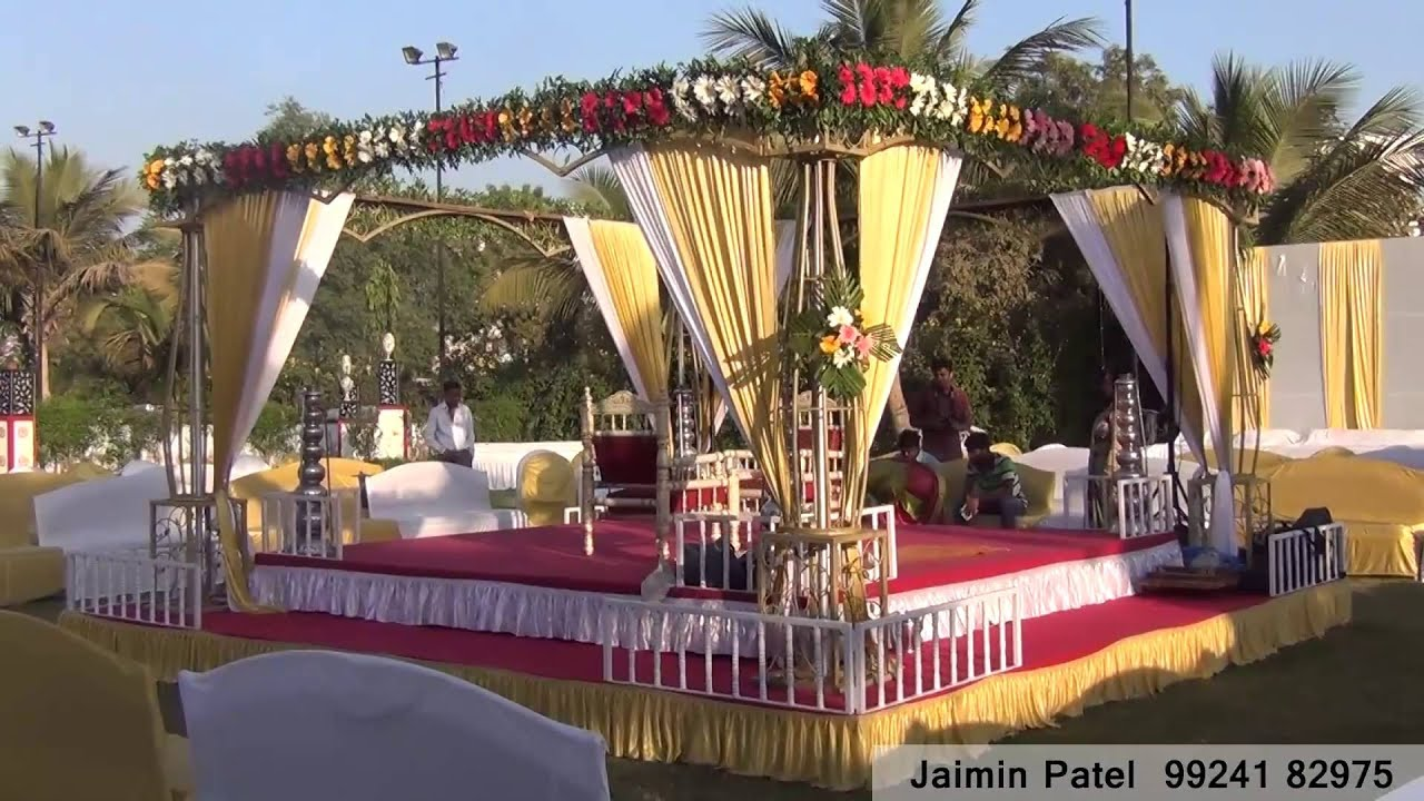 Chori Weddings Reception Decorators Decoration Ahmedabad