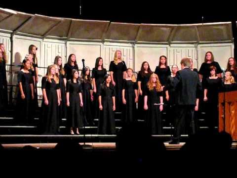 Hutchinson Middle School's Cantare Choir performing Autumn Vesper