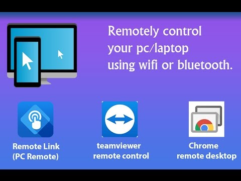 How to control your pc/laptop using your android phone  updated 2018
