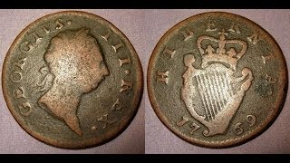 Metal Detecting UK (661) XP Deus - 1769 George III Half Penny