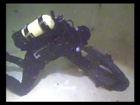 Enerpred hydraulic tools. Underwater test.