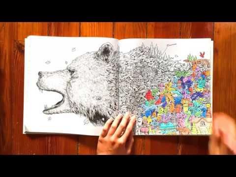 Animorphia Coloring Book
