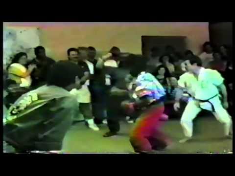 Toby Massell Greg Alexander 1st Degree AKK UKF Black Belt Test 1991 Part 4