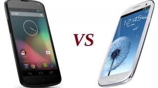 LG Nexus 4 vs Samsung Galaxy SIII. Битва монстров